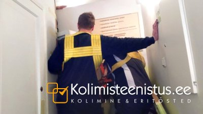 Kolimisteenused, kolijad teostamas 600kg seifi eritõstet ja transporti